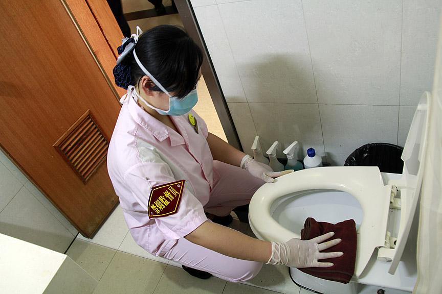 卫生间保洁